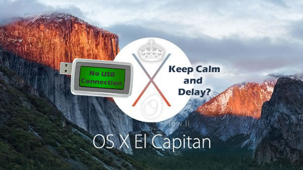 usb not working with el capitan osx10.11